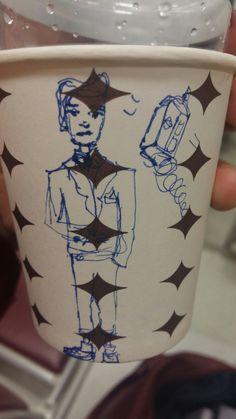 11th doctor, bowties cool. Doctor who. Art on Cups, bardakta çizim. Tardis.