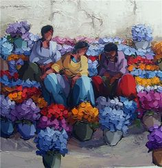 Saim Dursun - Moral - oil on canvas