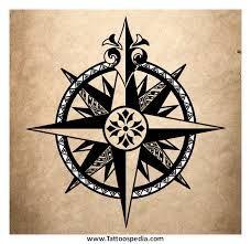 compass tattoo men - Google Search