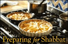 Preparing for Shabbat: Personal reflections on preparing ahead -- so that it all comes together