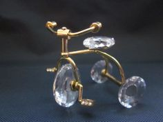 SWAROVSKI CRYSTAL MINIATURE MEMORIES TRICYCLE