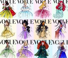 Disney Princesses - Vogue!