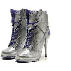 http://www.asneakers4u.com/ Nike Dunk High Heels High Silver Purple