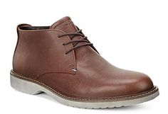 Ecco shoes for men - Ecco Ian Mens Plain Fronted Derby Style Lace Up Boot #Ecco #Mens #Boots #Bison #Brown #Leather Size 41, 42, 43, 44, 45, 46 Ecco Shoes Online http://www.robineltshoes.co.uk/store/search/brand/Ecco-Mens/