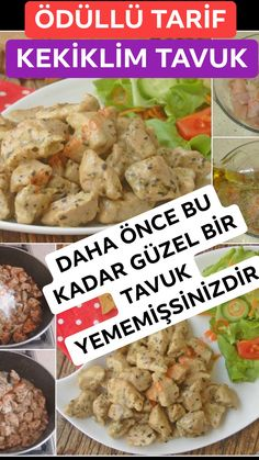 Kekiklim Chicken Recipe, How To (Award Winning Recipe of the Chicken World) - Yemek Tarifleri: Kolay, Pratik, Lezzetli Best Chicken Dishes, Chicken Recipes, Canned Blueberries, Scones Ingredients, Yum Yum Chicken, Meals For Two, Healthy Snacks, Sandwiches, Vegan Recipes