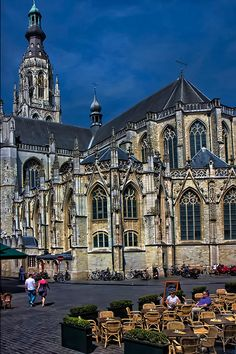 Breda - Cathedral in town