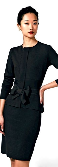 Valentino Black Suit