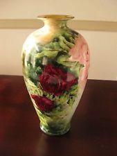 American Belleek Vase CAC  Belleek Vase Rare Hand Painted
