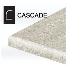 Laminate Countertop: Cascade Edge Pairs A Flowing Waterfall Roll With  Straight Edged Base.