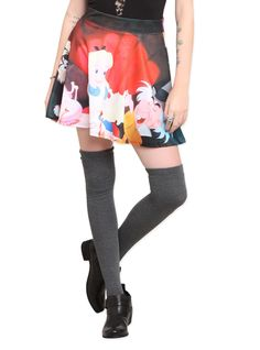 licensed alice in wonderland skirt @ hot topic