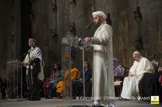 25-09-2015- Pope Francis in the USA-Interreligious meeting at Ground Zero- Encuentro interreligioso en el Ground Zero
