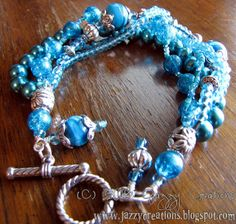 Lovely chunky bracelet inspiration from Jazzy Creations