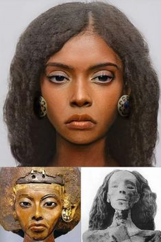 Ancient Egypt History, Ancient Egyptian Art, Ancient Aliens, African Culture, African American History, Forensic Facial Reconstruction, Egyptian Kings And Queens, African Royalty, Black History Facts