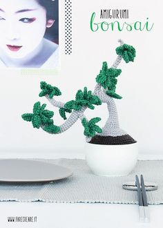 bonsai scheme to crochet for free in Italian