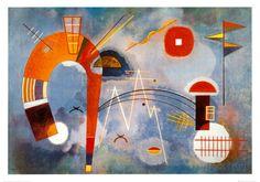 ワシリー・カンディンスキー「Rond et Pointu, c.1939」