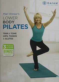 Lower Body Pilates Gaiam http://www.amazon.com/dp/B005S0STKK/ref=cm_sw_r_pi_dp_rRVGvb179FW94