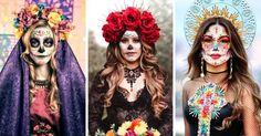 Maquillajes de Catrina que amarás lucir este Día de Muertos Love Is All, That Look, November 2, Mexicans, We Remember, Day Of The Dead, Cute Designs, Favorite Color, First Love
