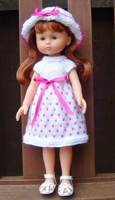 LES CHERIES DOLL KNITTING PATTERN