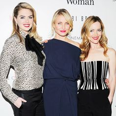 The Cinema Society with InStyle and Bobbi Brown Host a Screening of The Other Woman - Kate Upton, Cameron Diaz and Leslie Mann