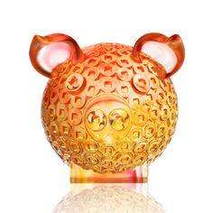 "Zodiac Pig Figurine (Magnanimous) - ""Generosity Brings Fortune"""