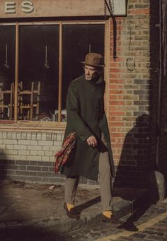 """The light between brick walls"", A/W by Adam Rogers Cool Street Fashion, Street Style, Fashion Hashtags, Dapper Dan, Mens Fashion, Fashion Outfits, Classic Man, Mode Style, Hats For Men"