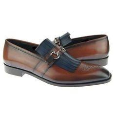 uk availability 7f6c3 05b4b Handmade Men s Slip-on Dress Leather Shoes, Handmade leather shoes for men