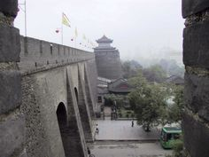 Xian, China: I lived here for two years.  Ancient walled city with the best food in China.