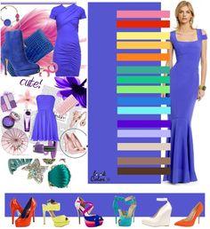 Bright lilac color