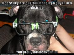 Oh hipster puppeh....