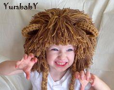 Traje de Halloween sombrero de parches de col por YumbabY en Etsy