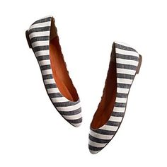 porchstripe shoe | madewell
