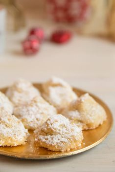 Baking Christmas biscuits - snow mountains with coconut - Best Christmas Recipes, Christmas Goodies, Merry Christmas, Xmas Cookies, Cake Cookies, Christmas Biscuits, Fondant, Dessert Blog, No Bake Desserts