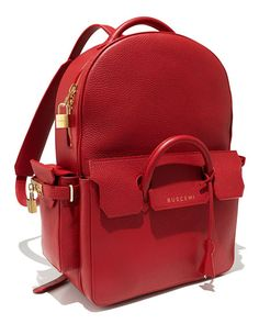 Neiman Marcus_Buscemi	 PHD Large Leather Backpack, Red