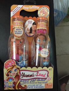 Yummi Land Lucy Lollipop Candy Pop Girls Piper Peanut Butter Doll