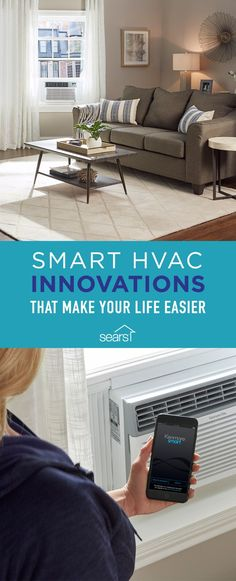 When it comes to your heating, ventilation and air conditioning system, it's time to get smart. From maintenance reminders sent straight to your smartphone to remote controlled thermostats, cooling and heating your home has never been easier. These new smart home features aren't just trendy and cool, either — they can save you both time and money and help your HVAC system last longer and work more efficiently. Visit the Sears Home Improvement blog for more smart HVAC innovations that will…