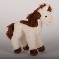Spotty Brown & White Plush Horse - 9