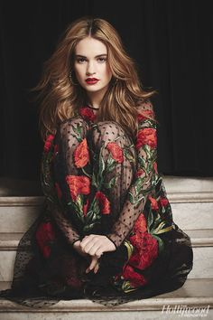 Next Big Thing: 'Cinderella' Star Lily James (Video) - Hollywood Reporter