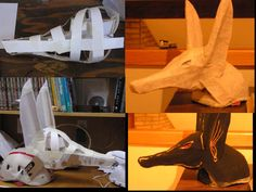 Anubis Mask by ~Delvennerim on deviantART