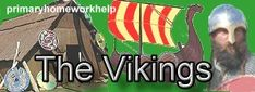 The Viking Age in Britain began about years ago in the Century AD and lasted for 300 years. The Vikings first invaded Britain in AD 793 and last invaded in 1066 when William the Conqueror became King of England after the Battle of Hastings. History Websites, School Websites, Vikings For Kids, Summer Courses, Education Sites, Kids Homework, Viking Life, Story Of The World, Teaching History