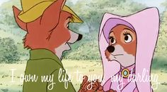 """When he looked in Maid Marian's eyes and said the most romantic words. 
