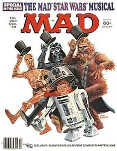 It was always a treat when I could convince my parents to buy me a copy of MAD Magazine. I *LOVED* Spy vs. Spy the most. Remember that?!