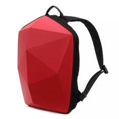 KINGSLONG Men Polygon Travel Bag Solid Casual Backpack Online - NewChic  Mobile Cool Backpacks For Men db5ef817c21f1