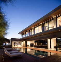 Modern Concrete Beach Home in Israel by Pitsou Kedem Architect