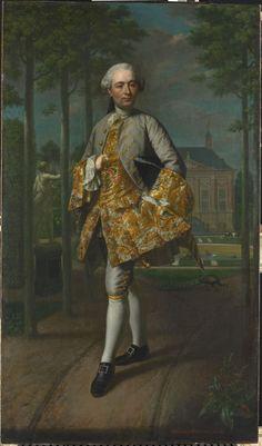ab. 1755 Mattheus Verheyden - Portrait of Gerard Cornelis van Riebeeck