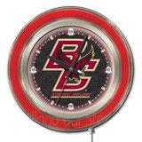 Boston College Neon Logo Clock http://www.pinterest.com/sportsfansplus/