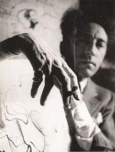 Jean Cocteau, 1939, André Papillon.