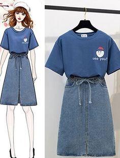 Teen Fashion Outfits, Cute Fashion, Look Fashion, Stylish Outfits, Fashion Design Drawings, Fashion Sketches, Korean Fashion Trends, Asian Fashion, Fashion Drawing Dresses