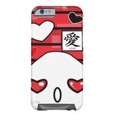 Love and Hearts Japanese Manga Onigiri iPhone 6 Case