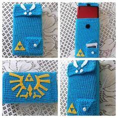 Nintendo 3DS/DS case inspired by Zelda series - CROCHET