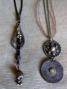 Zipper necklaces / vetskarikaulakorut /ArjaS